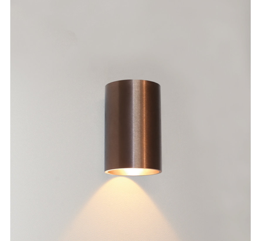 Wandlamp Brody 1 - Brons