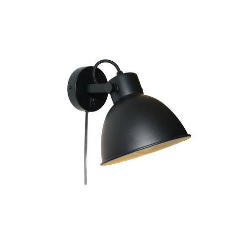 Artdelight Wandlamp Landaluze - Zwart