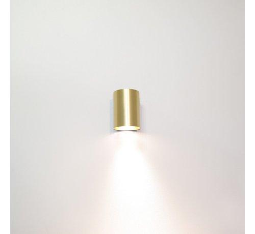 Artdelight Wandlamp Roulo 1 - Goud