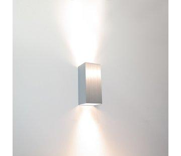 Artdelight Wandlamp Dante 2 - Aluminium