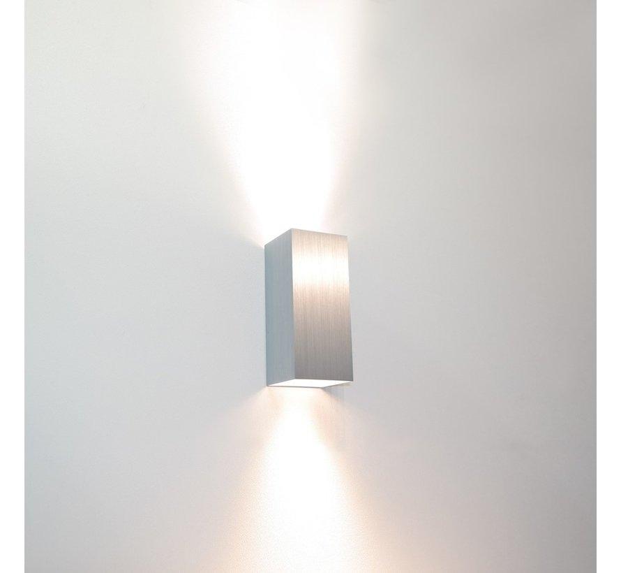 Wandlamp Dante 2 - Aluminium