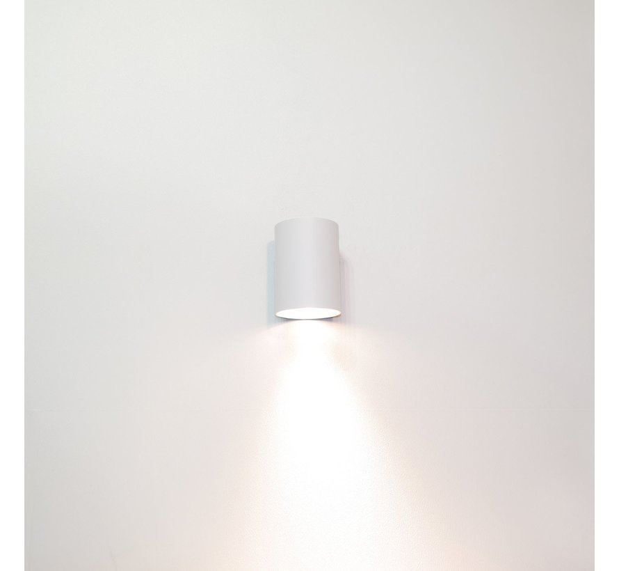 Wandlamp Roulo 1 - Wit