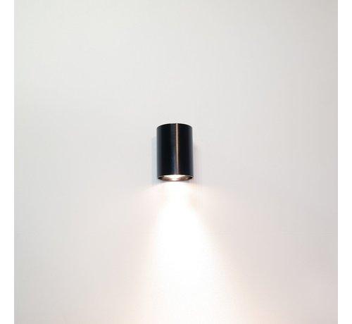 Artdelight Wandlamp Roulo 1 - Zwart