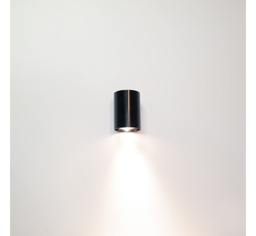 Wandlamp Roulo 1 - Zwart