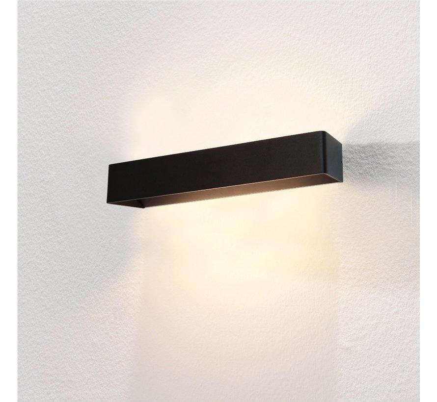 Wandlamp Mainz XL - Zwart