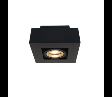 Artdelight Plafondlamp Bosco 1L - Zwart