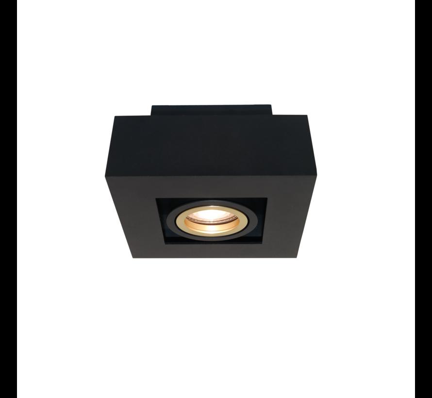 Plafondlamp Bosco 1L - Zwart