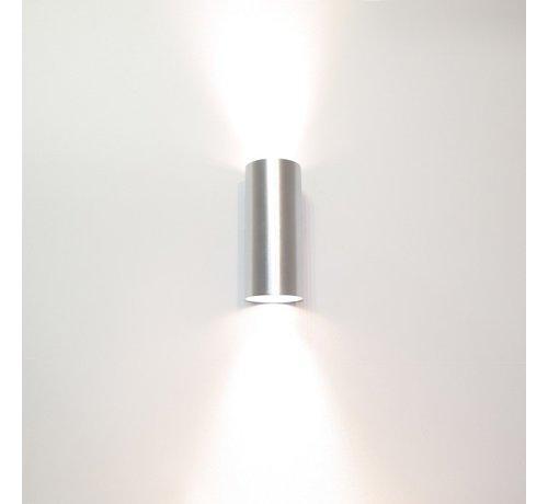 Artdelight Wandlamp Roulo 2 - Aluminium