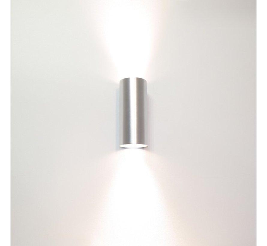 Wandlamp Roulo 2 - Aluminium