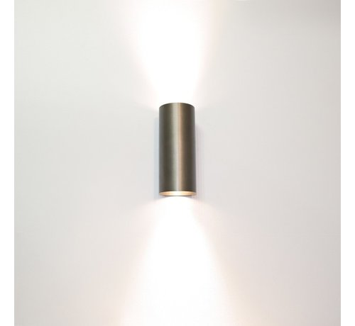 Artdelight Wandlamp Roulo 2 - Brons
