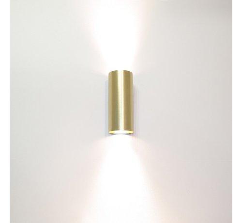 Artdelight Wandlamp Roulo 2 - Goud