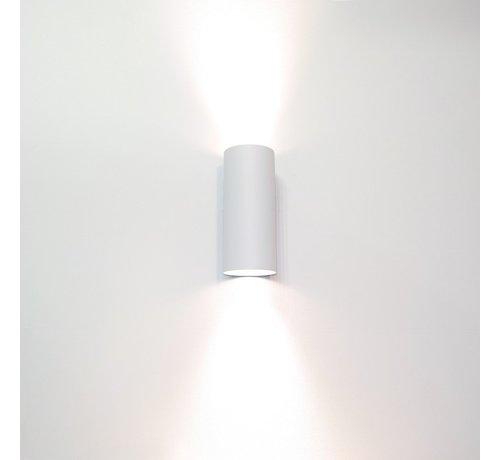 Artdelight Wandlamp Roulo 2 - Wit
