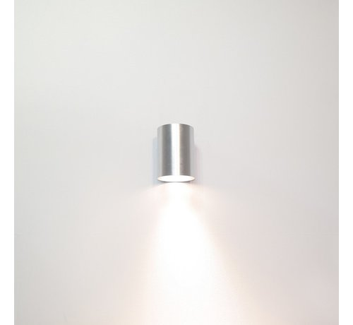 Artdelight Wandlamp Roulo 1 - Aluminium