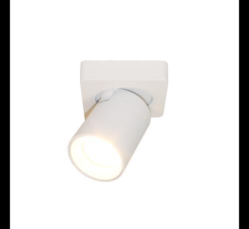 Artdelight Plafondlamp Megano 1L - Wit