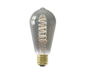 Calex Calex - E27 Led Filament Rustiek Smoke 4W 2100K 100lm - Dimbaar