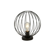 Searchlight Tafellamp Wire - Zwart