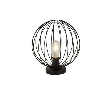 Searchlight Tafellamp Wire - Zwart