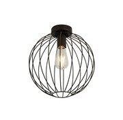 Searchlight Plafondlamp Wire - Zwart