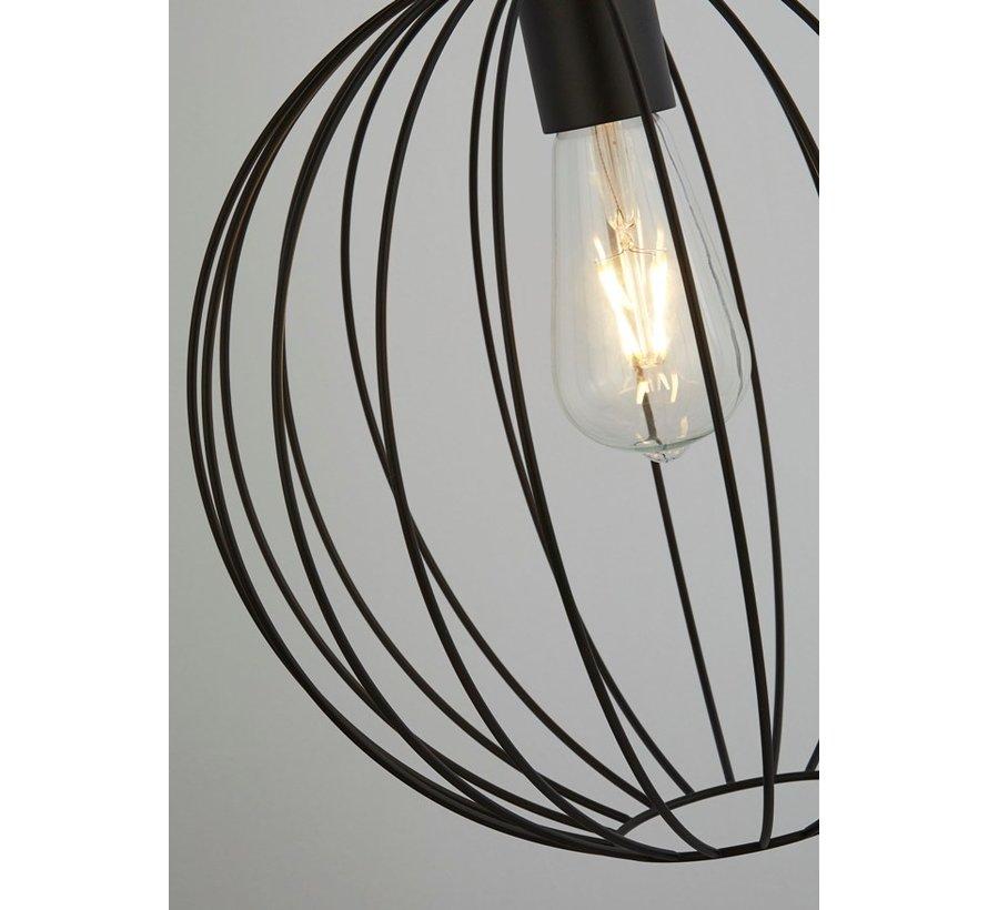 Plafondlamp Wire - Zwart