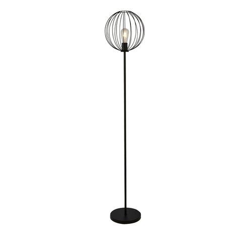 Searchlight Vloerlamp Wire - Zwart