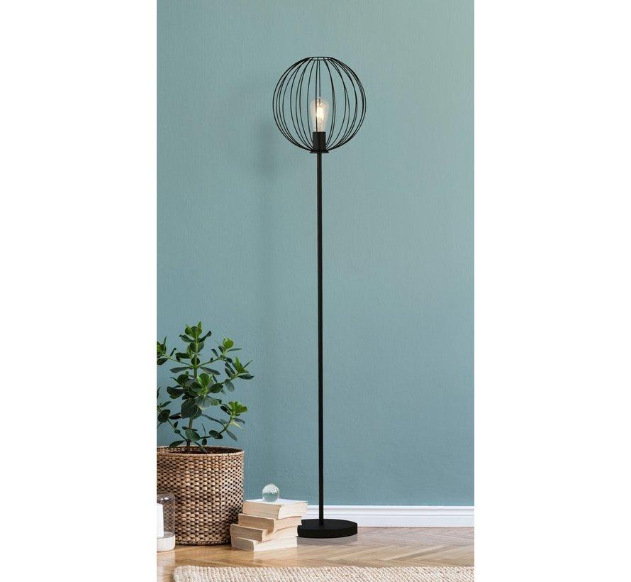 Vloerlamp Wire - Zwart