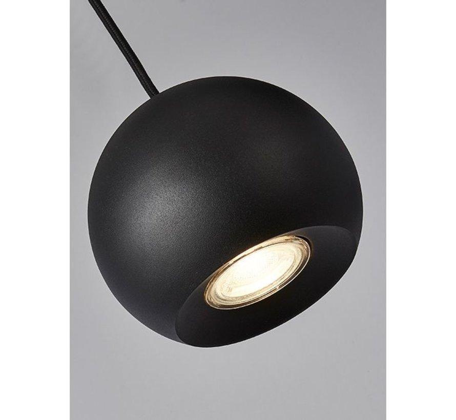 Hanglamp Eindhoven 5L - Zwart
