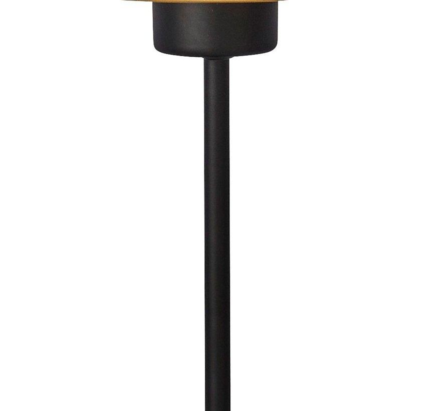 Tafellamp Honeycomb - Zwart/Goud