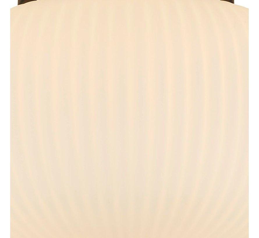 Plafondlamp Lumina - Zwart/Wit