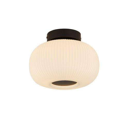 Searchlight Plafondlamp Lumina - Zwart/Wit