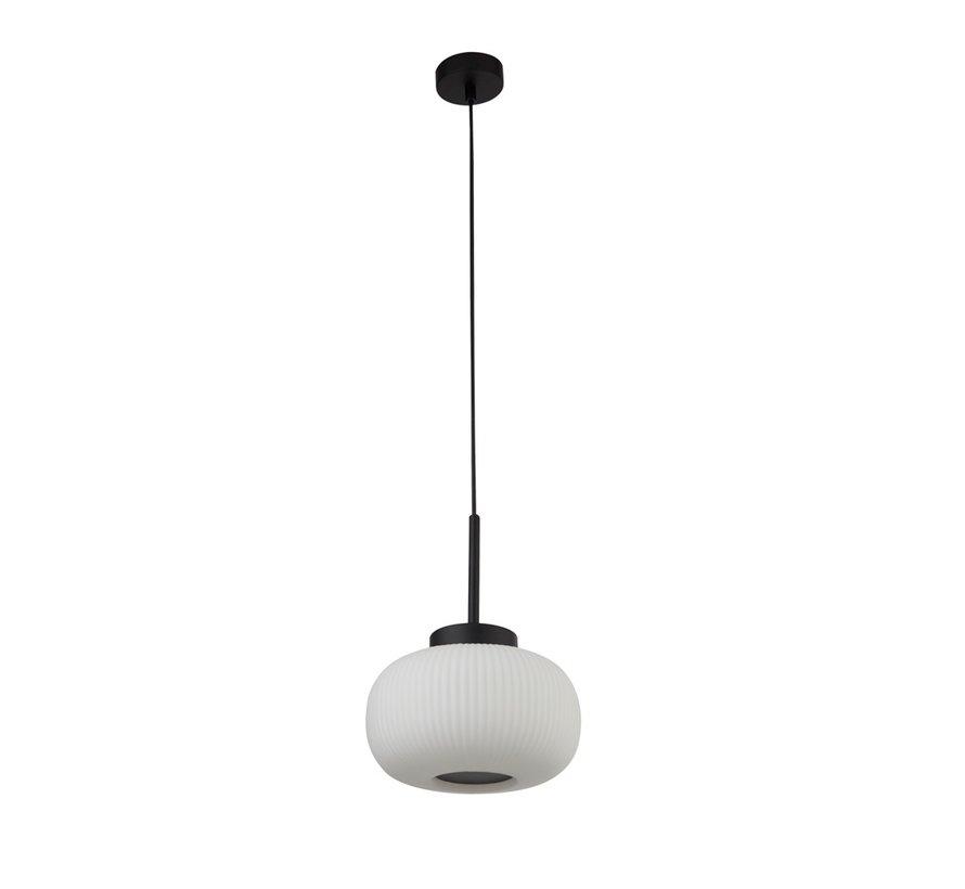 Hanglamp Lumina - Zwart/Wit