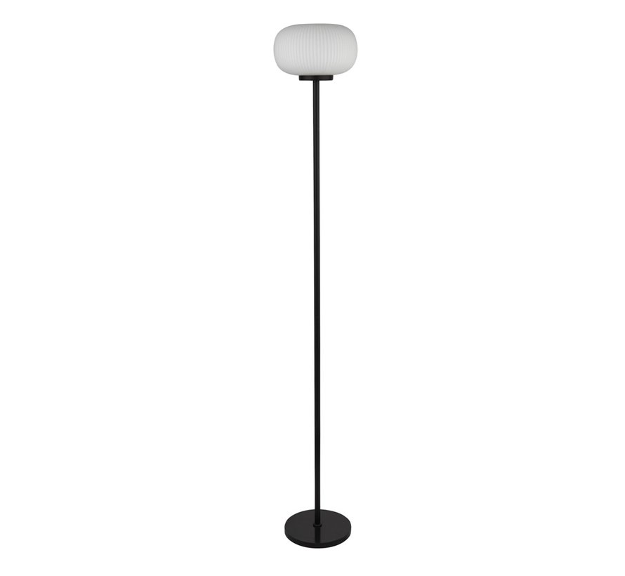 Vloerlamp Lumina - Zwart/Wit