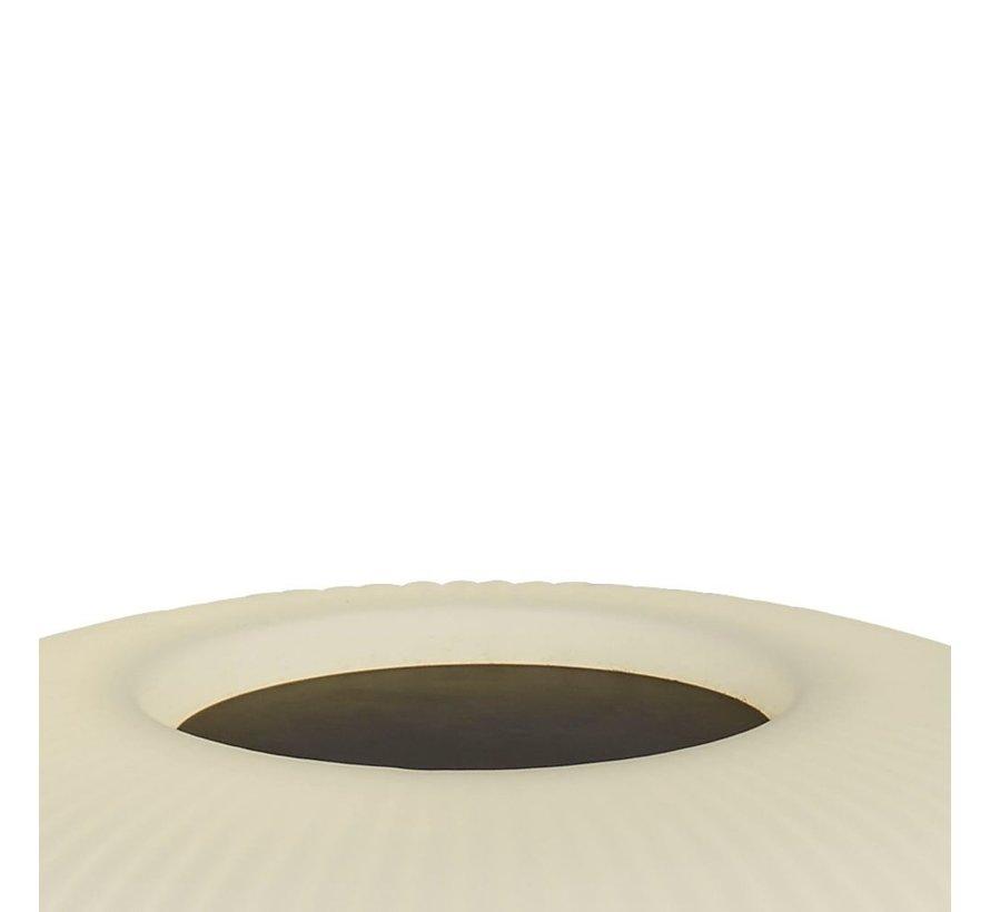Tafellamp Lumina - Zwart/Wit