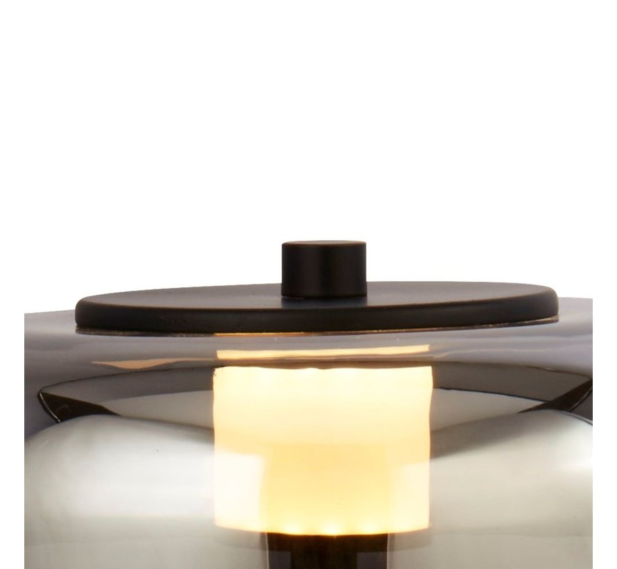 Tafellamp Frisbee - Smoke