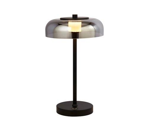 Searchlight Tafellamp Frisbee - Smoke