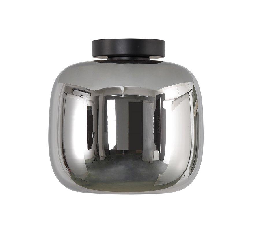 Plafondlamp Preston 24cm - Smoke