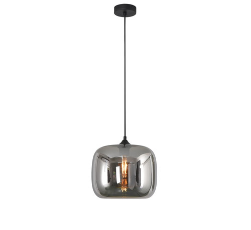 Artdelight Hanglamp Preston 28cm - Smoke