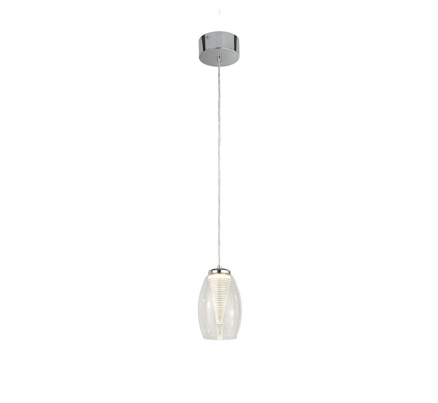 Hanglamp Cyclone - Chroom/Helder