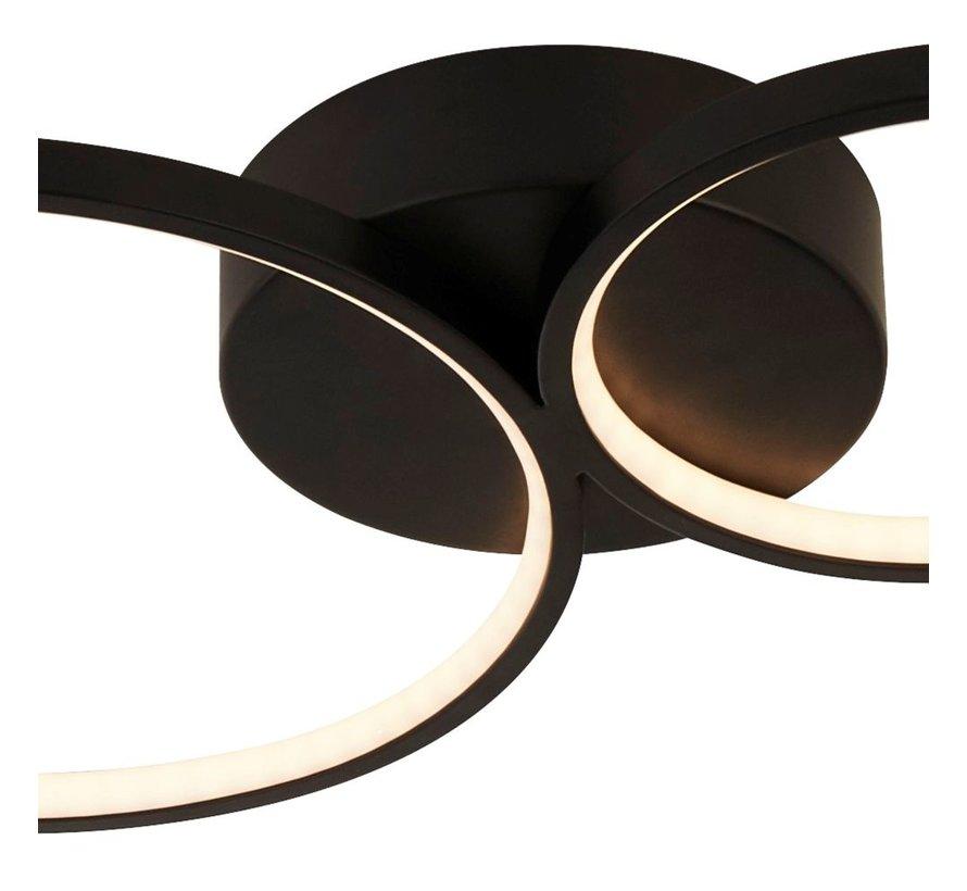Plafondlamp Cirque - Zwart