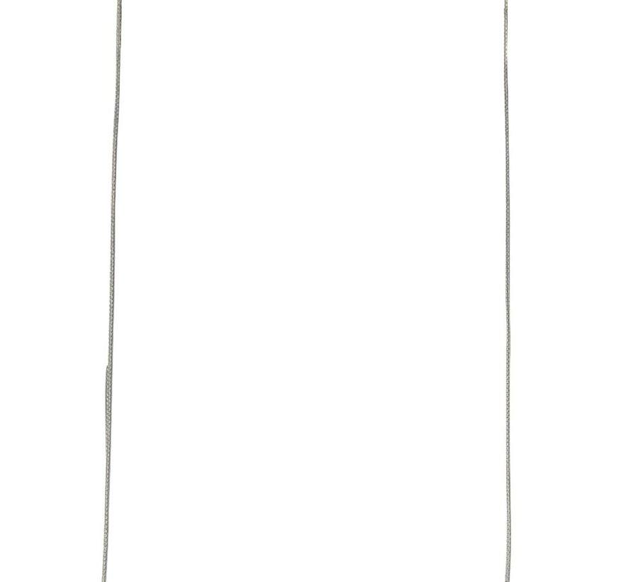 Hanglamp Tribeca - Mat Staal