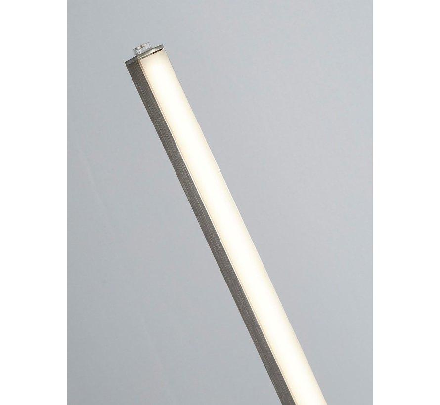Vloerlamp Tribeca - Mat Staal
