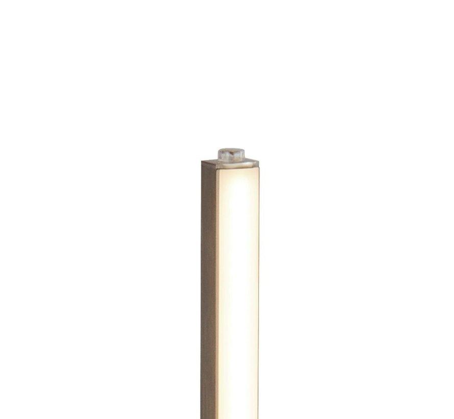 Tafellamp Tribeca - Mat Staal