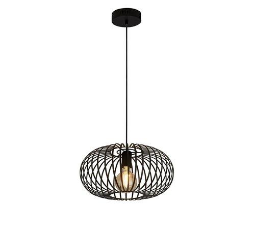 Searchlight Plafondlamp/Hanglamp Avery - Zwart