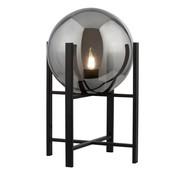 Searchlight Tafellamp Amsterdam XL - Zwart/Smoke