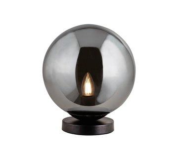 Searchlight Tafellamp Amsterdam - Zwart/Smoke