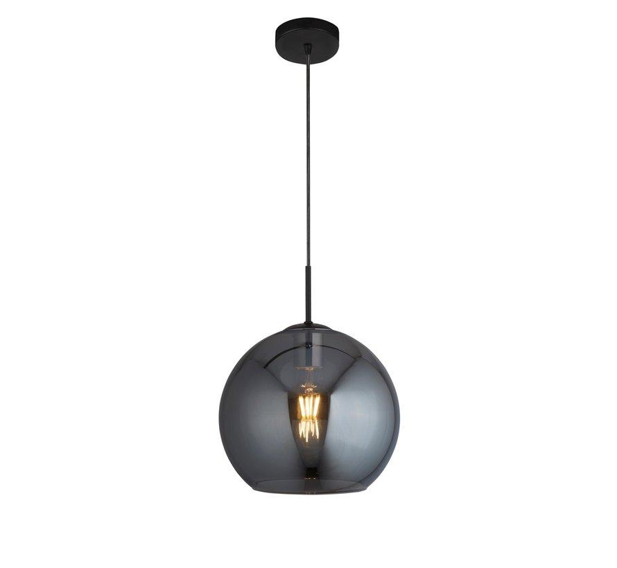 Hanglamp Amsterdam - Zwart/Smoke