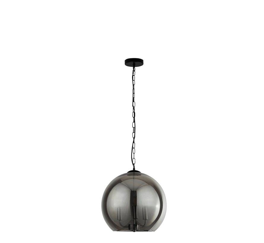 Hanglamp Sphere - Zwart/Smoke