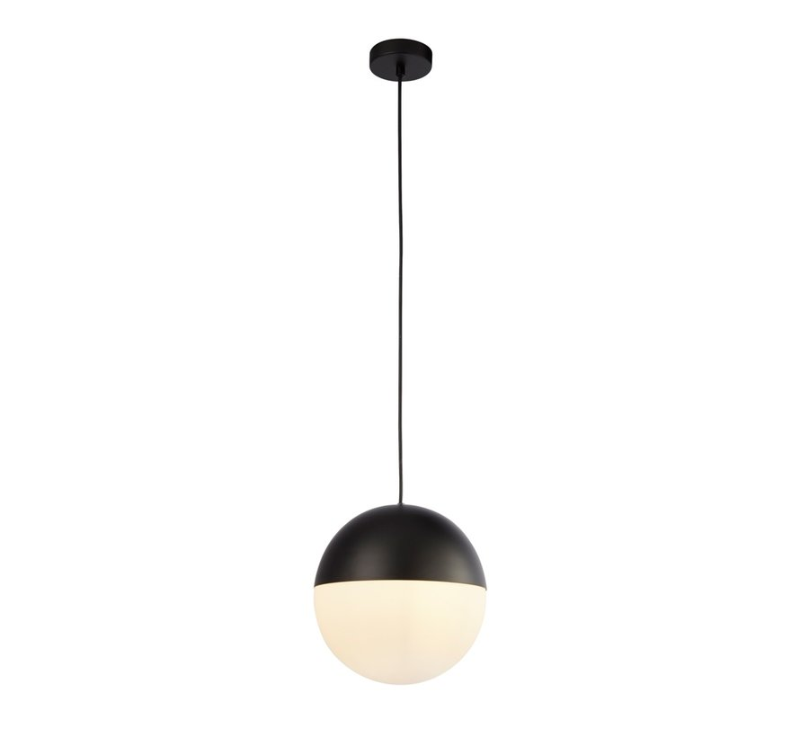 Hanglamp Endor - Zwart/Wit