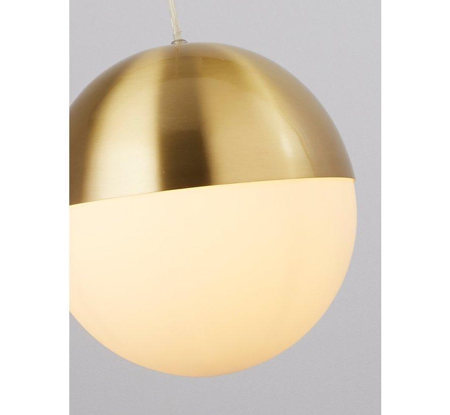 Hanglamp Endor - Goud/Wit
