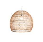 Searchlight Hanglamp Rattan 60x50cm - Zwart/Rattan
