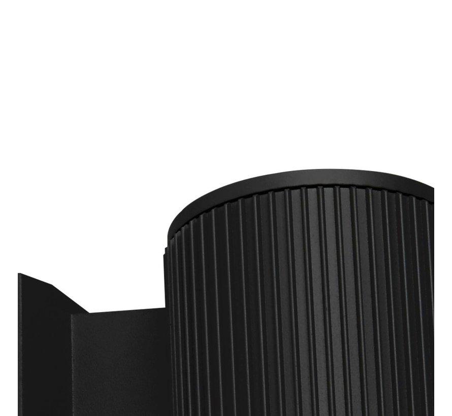 Wandlamp Wallporch - Zwart